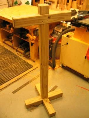plans  build     wooden stand  plans