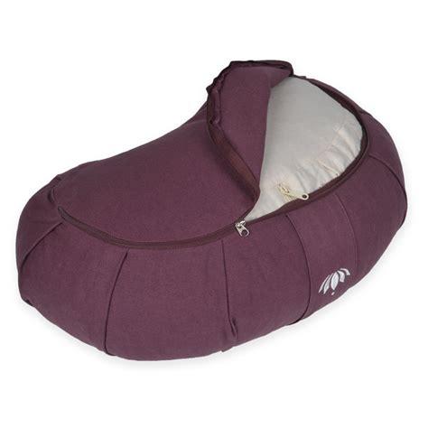 Zafu Pillows by Lotuscrafts Zafu Crescent Meditation Cushion Quot Siddha