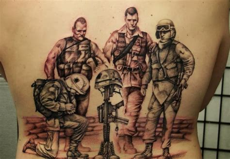 infantry tattoo army tattoos designs ideas and meaning
