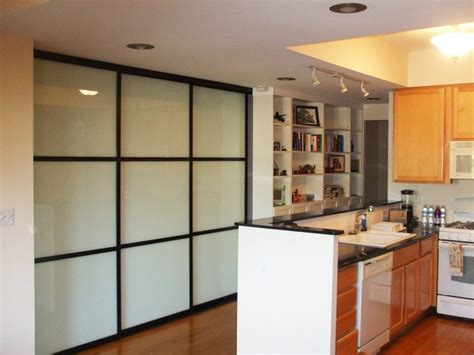 Sliding Door Design For Kitchen Sliding Glass Doors Frosted Kitchen Pantry