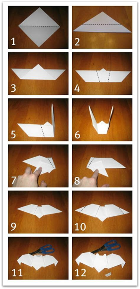 What Can I Make With Construction Paper - relentlessly deceptively educational origami bats