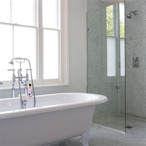 white marble bathrooms bathroom grey walls grey marble