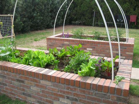Garden Bricks Brick Raised Bed Vegetable Garden Garden