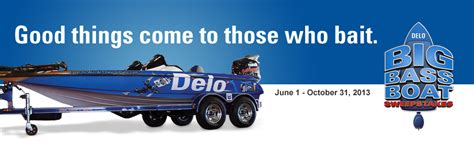 Bass Boat Sweepstakes - java john z s delo bass boat sweepstakes