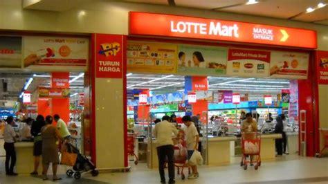 Teh Kotak Di Lotte Mart siasati kantong plastik berbayar lottemart medan sediakan kardus gratis tribunnews