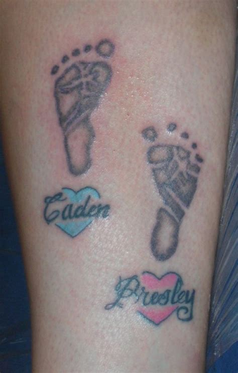 baby boy tattoo designs baby footprint tattoos designs ideas and meaning