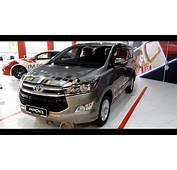 Toyota Innova 20G 2017 Exterior &amp Interior  YouTube