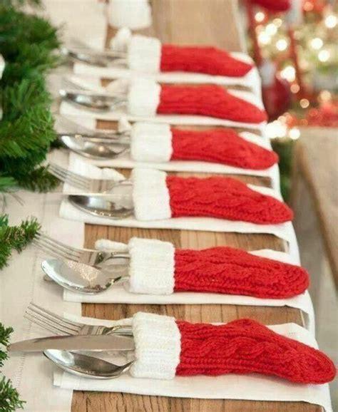 tischschmuck weihnachten selber basteln 40 leichte schnelle und g 252 nstige tischdekoration ideen