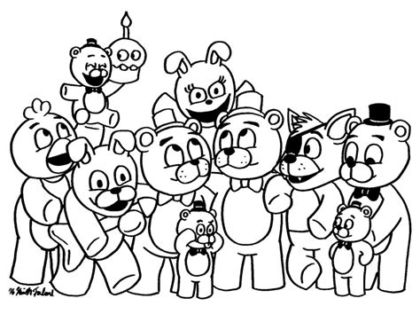 Fnaf 7 Coloring Pages by Fnaf Location Free Coloring Pages