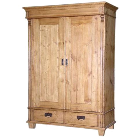 Antique Pine Armoire by A789a Jpg