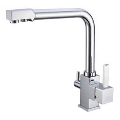 hot cold water ro filter kitchen mixer faucet f3305 hot and cold water and ro filter brass kitchen sink faucet