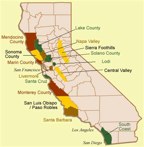 california map mendocino county gewurz by valley vineyards gewurztraminer from