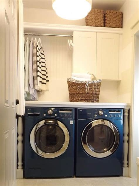 How To Hang Laundry Room Cabinets Laundry Room Ideas Remove An Cabinet And Install A Rod To Make A Space For Hanging