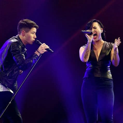 demi lovato feat nick jonas nick jonas teases new uk album release with a live