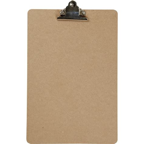 A4 Clip Board clipboard a4 23x34 cm thickness 3 mm mdf a4 1pc 265880