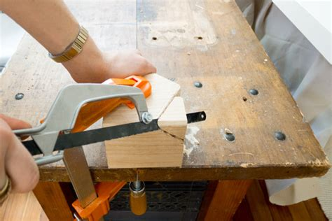 make all from wood make it modern diy metallic faceted wood doorknob