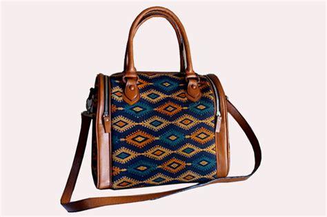 Tas Tenun Dengan Kulit Sapi toko tas kulit tas kulit tas wanita tas