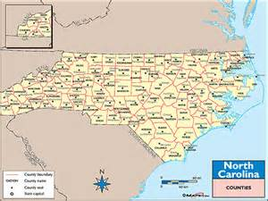 carolina map counties and cities carolina counties and county seats map by maps