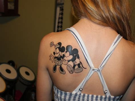minnie and mickey tattoos 21 disney tattoos you d to