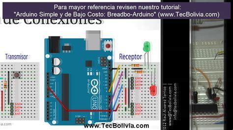 arduino tutorial site du zero arduino intermedio comunicacion inal 225 mbrica con m 243 dulos