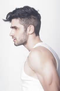 flattering hairstyles for withnnice hair long messy lock with nice tight sides mens cuts