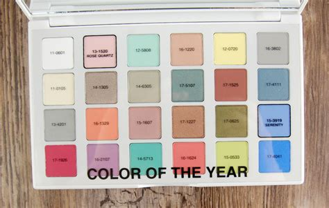 best color swatches of 2016 sephora pantone universe color of the year 2016 modern