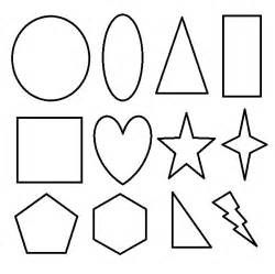 shape coloring pages shapes coloring pages for preschoolers shapes