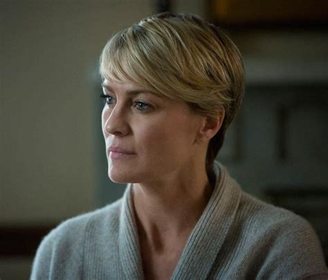 robin wright just before she cut her hair cele bitchy jennifer lawrence got a drastic pixie cut