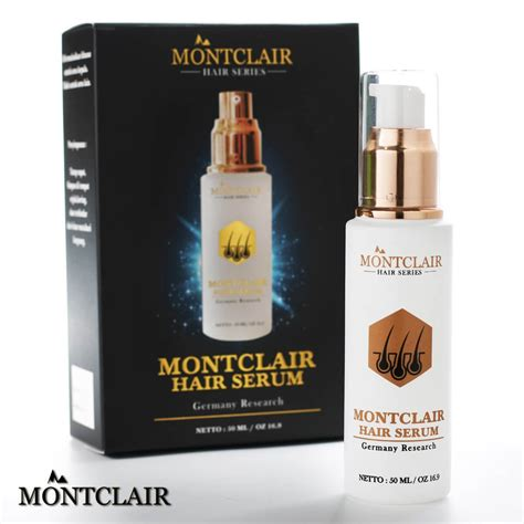 Jual Montclair Hair Serum serum penumbuh rambut dan anti kerontokan montclair