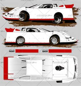 Dirt Late Model Graphics Template by 2016 Dynamic Dirt Late Model Template Srgfx