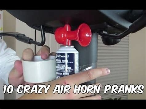 Office Chair Air Horn by 10 Air Horn Pranks To Play On Your Friends And
