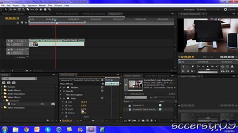 youtube tutorial adobe premiere pro cs5 adobe premiere pro cs5 tutorial cropping a video youtube
