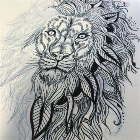 lion mandala tattoo mandala search