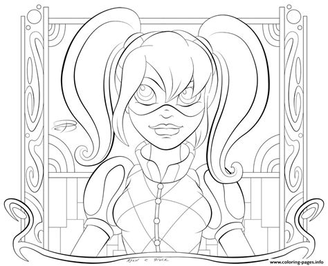 Kid Hd Harley Quinn Coloring Pages Printable Coloring Pages Hd
