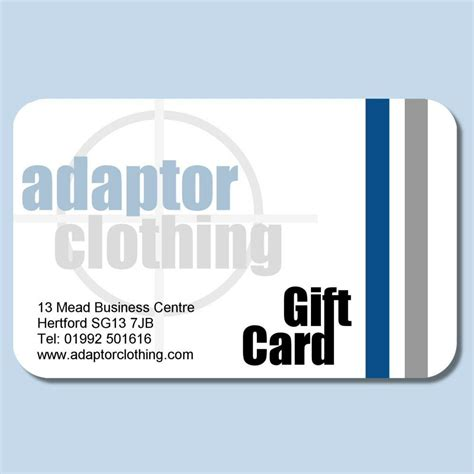 Clothes Gift Cards - adaptor clothing gift card adaptor clothing