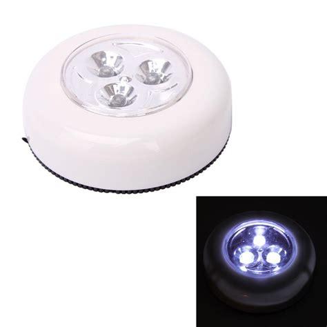 One Touch Light 5pcs 5pcs mini cordless 3 led touch light batteries power stick tap touch l white ebay