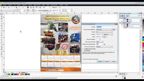 corel draw x6 youtube crear calendario en corel draw x6 youtube