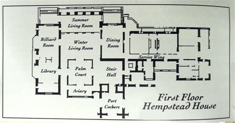Master Suites Floor Plans the history of hempstead house long island weekly