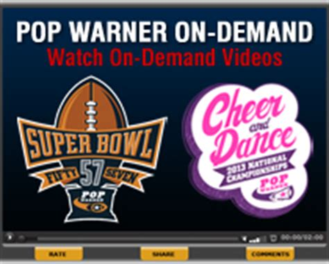 2012 pop warner super bowl and national cheer dance 2013 pop warner super bowl and national cheer dance