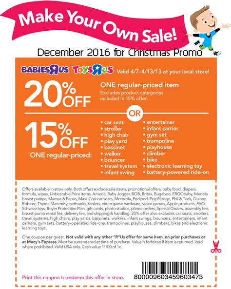Discounts R Us by Printable Coupons 2017 Toys R Us Coupons