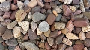 1 Cubic Yard Of Gravel 3 4 River Rock Erickson S Landscape Supply