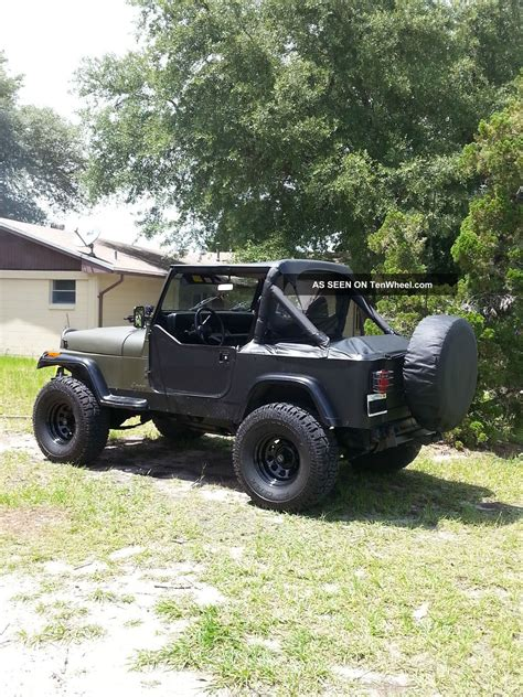 1989 jeep wrangler saraha yj