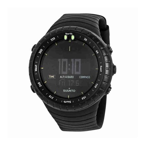 Suunto Digital Black suunto all black digital display tiendamia