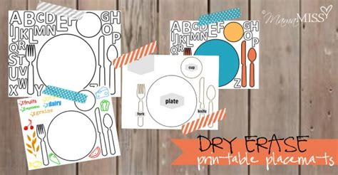 printable alphabet placemat dry erase printable placemats mama miss