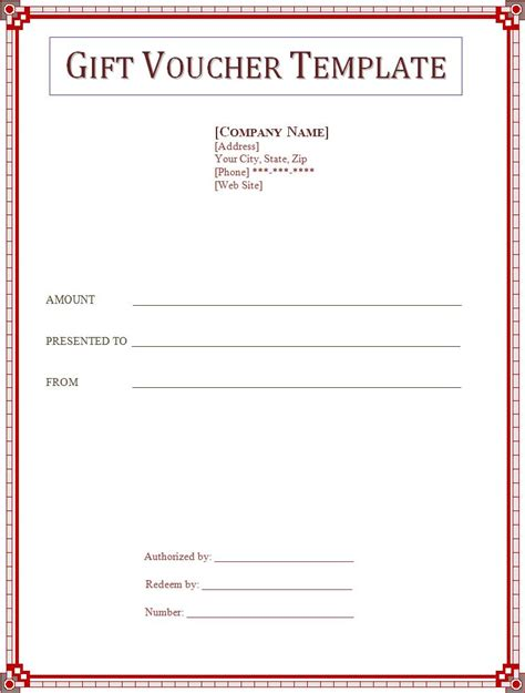 free gift certificate template download word publisher templates