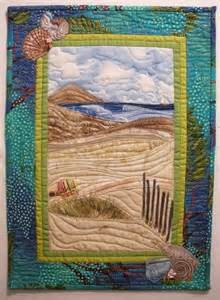 landscape quilts landscape quilt begunby sally gould wright in