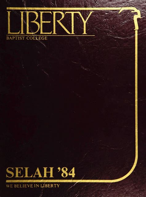 Florida Style Home Plans liberty university 1983 84 yearbook by liberty university