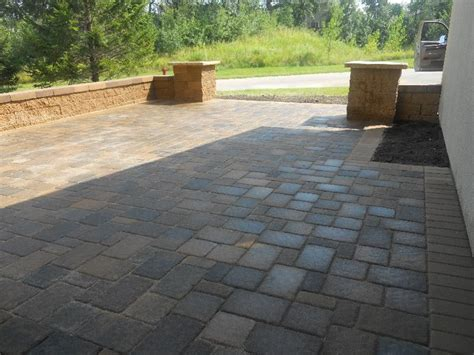 Paver Patio Slope Landscape Contractor Farmington Mn Design Hardscapes