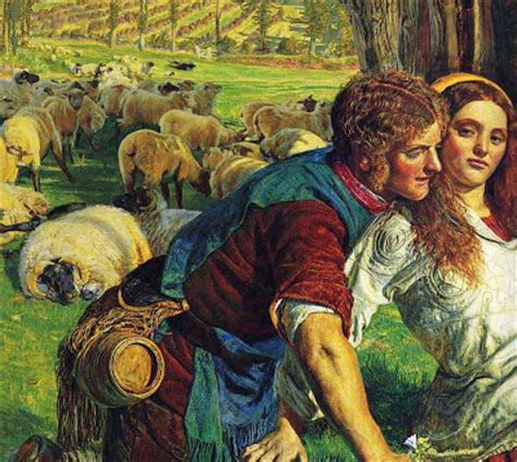 by william holman hunt the hireling shepherd british paintings william holman hunt the hireling