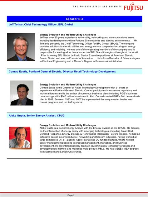 biography exles for speakers speaker biographies fla tech symposium 2010